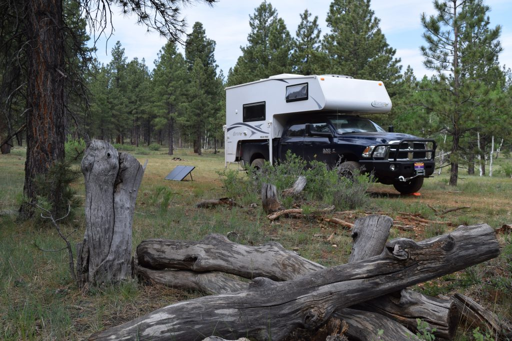 Boondocking - Solar Power - Truck Camper Adventure