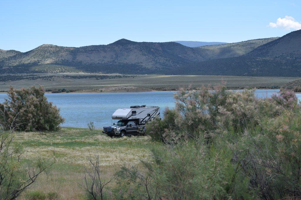 Boondocking - Flaming Gorge, UT - Truck Camper Adventure