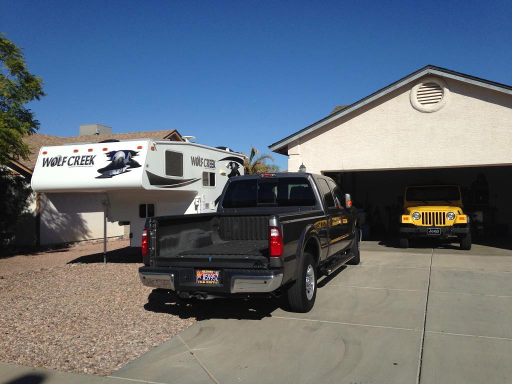 Truck Camper Storage Garage
