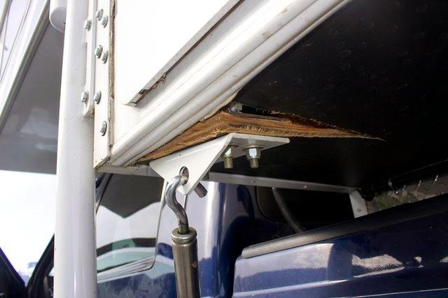 Wolf Creek 850 anchor bolt tie down issue - Truck Camper Adventure