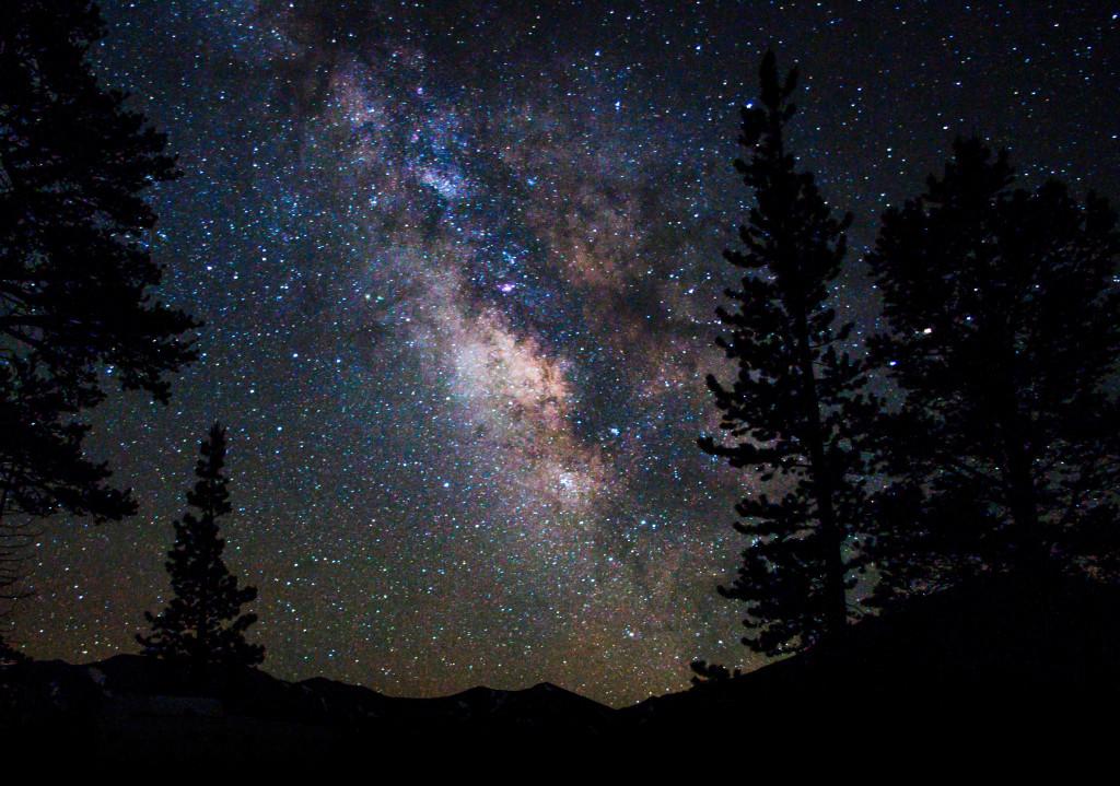 Dan Schechter - Milky Way Leavit Peak - Truck Camper Adventure