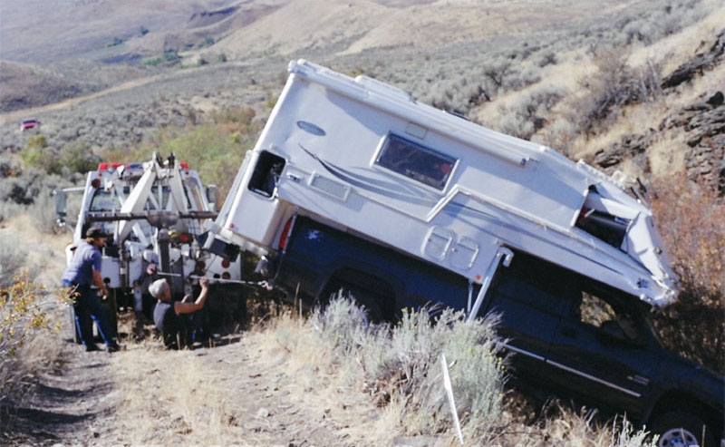 The Torklift Fastgun Roll Over Story Truck Camper Adventure