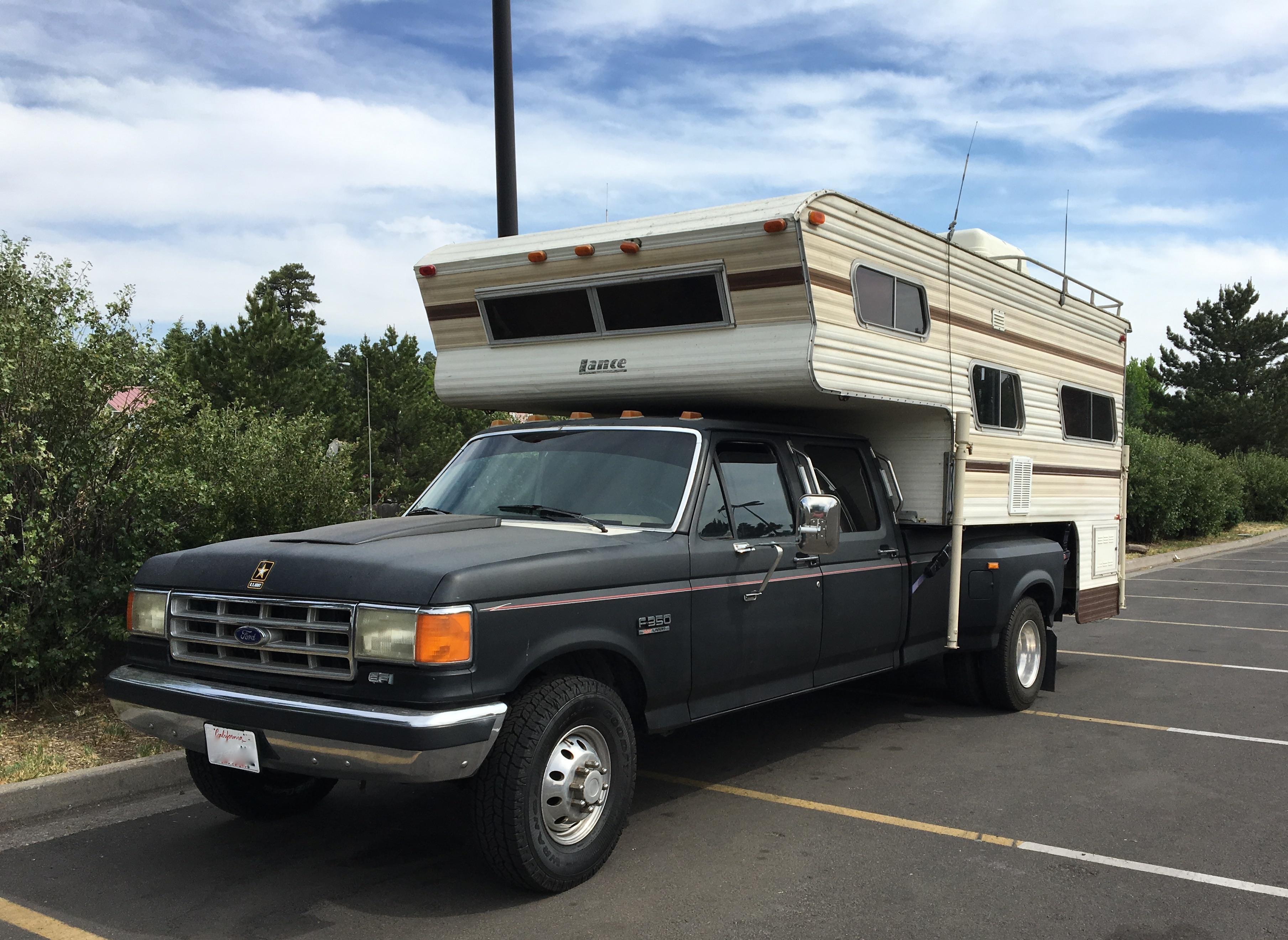 Pickup Truck Camper Atamu – Lance Truck Camper Wiring Diagram