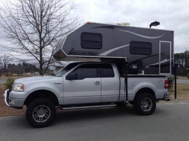 camplite 6.8 - half-ton truck camper - Truck Camper Adventure