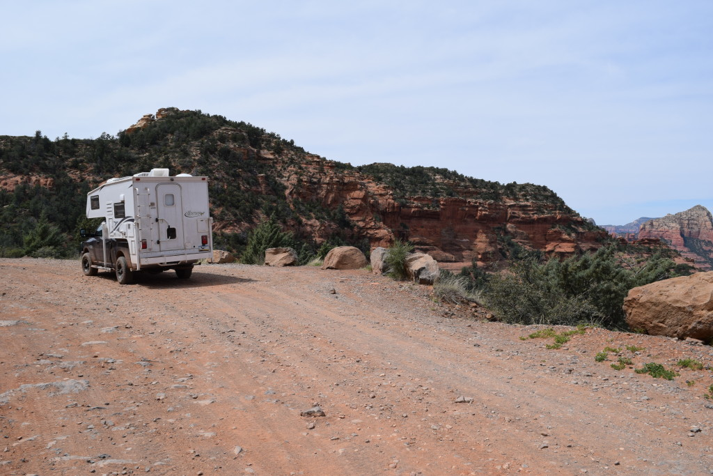 Schnebly Hill 4x4 Road - Truck Camper Adventure