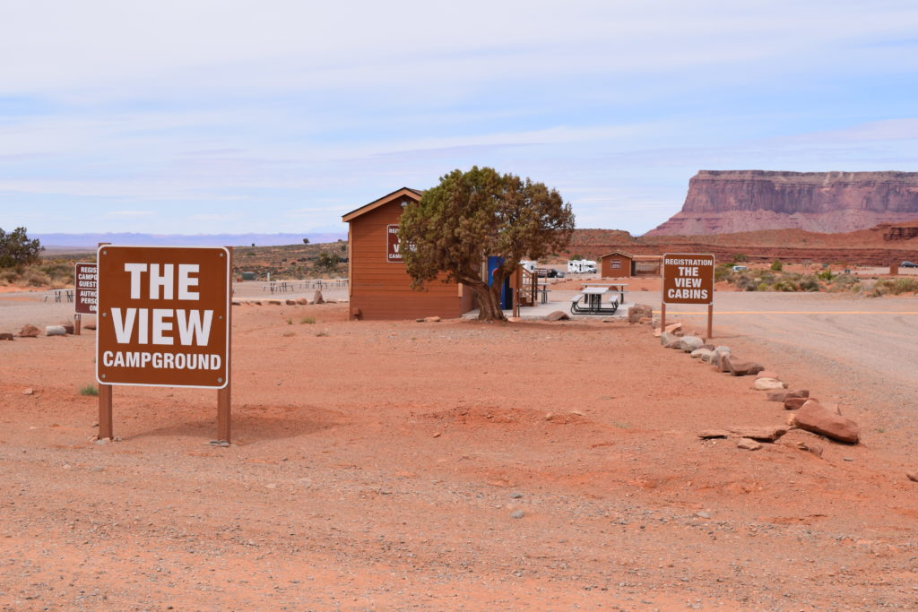 Monument Valley Campground - The View - Truck Camper Adventure