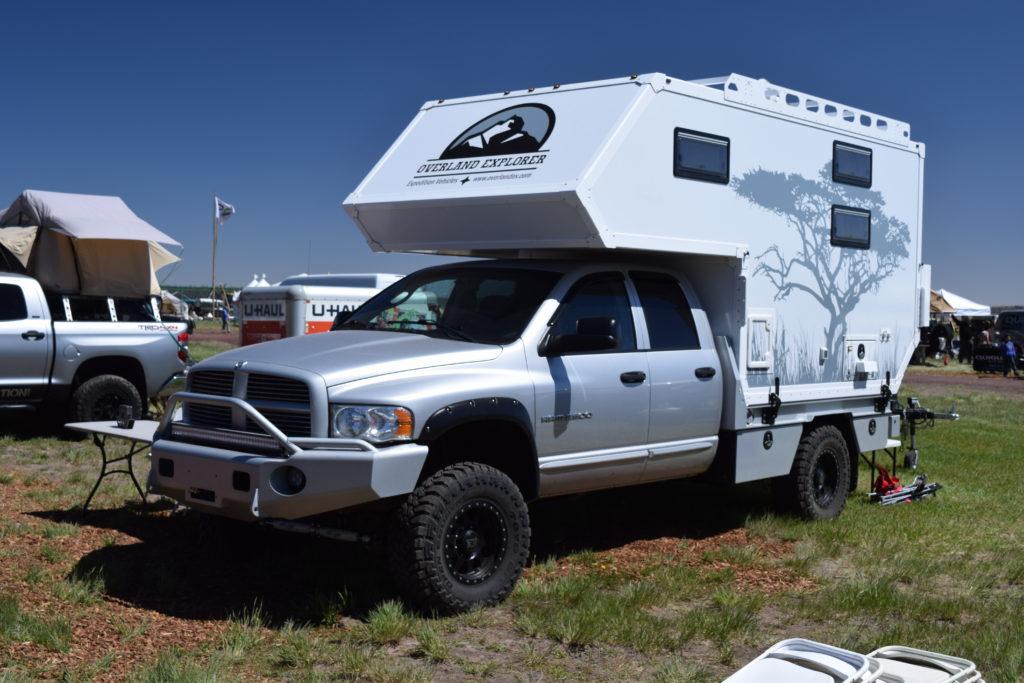 Overland Explorer Flatbed Truck Camper