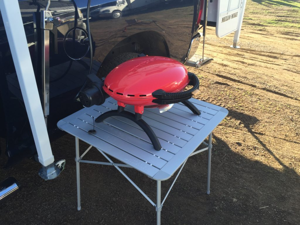 O-Grill and Camping Table - Truck Camper Adventure