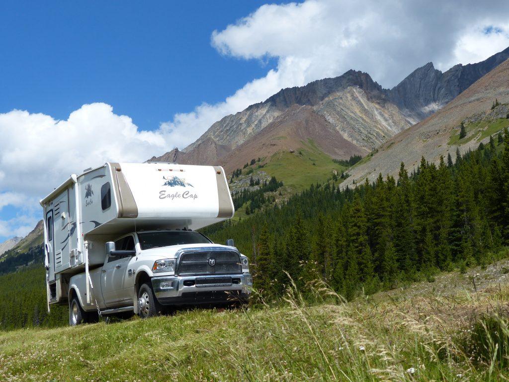K Country, Hwy 40 near Lemon Mine - Truck Camper Adventure