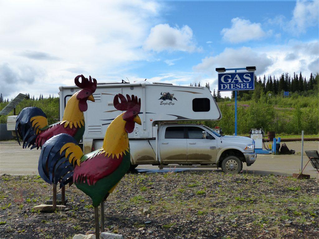 Chicken, AK - Truck Camper Adventure