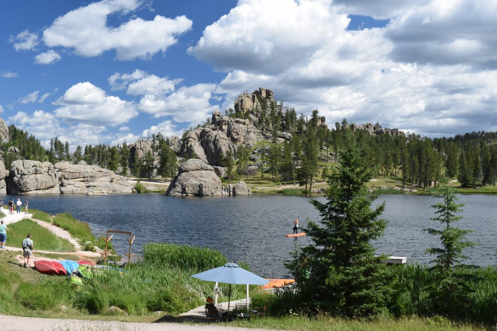 Sylvan Lake, Custer State Park, South Dakota, Truck Camper Adventure