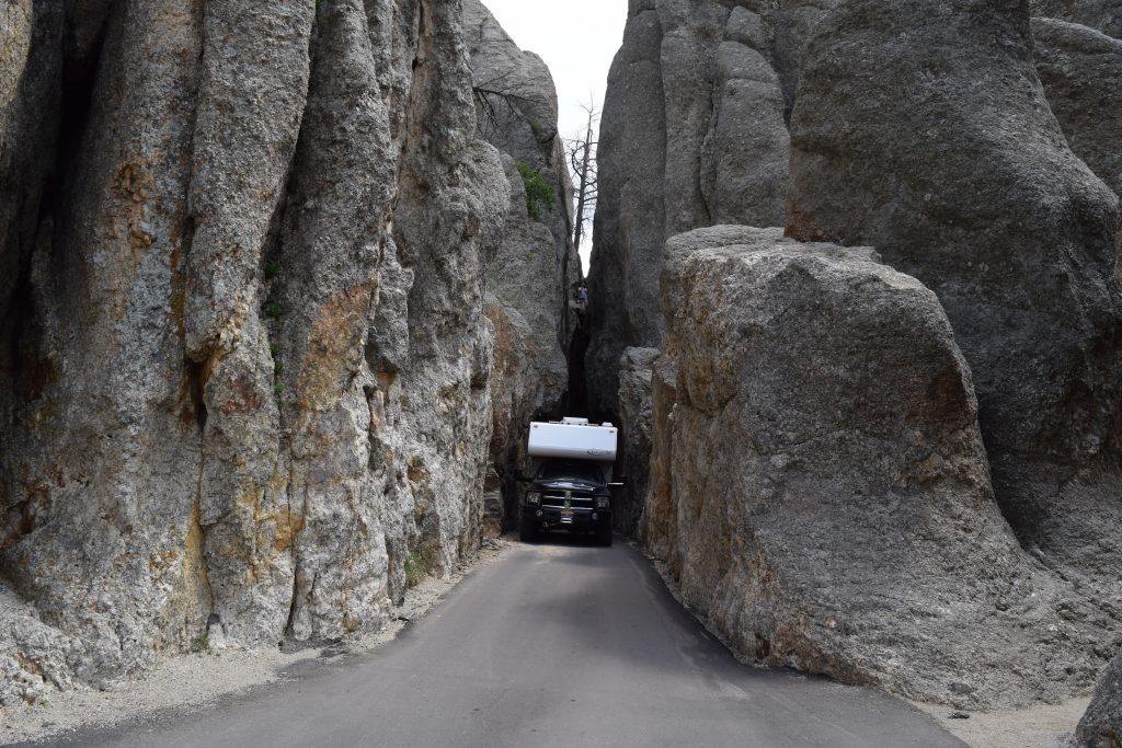 The Needles Highway, South Dakota, Truck Camper Adventure