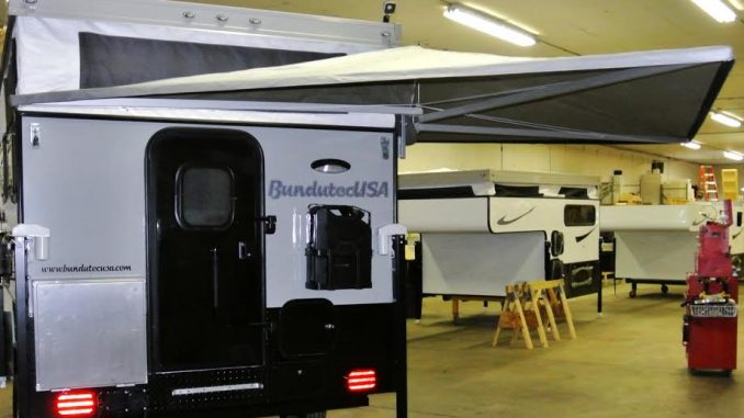half wing Awning3 - Truck Camper Adventure