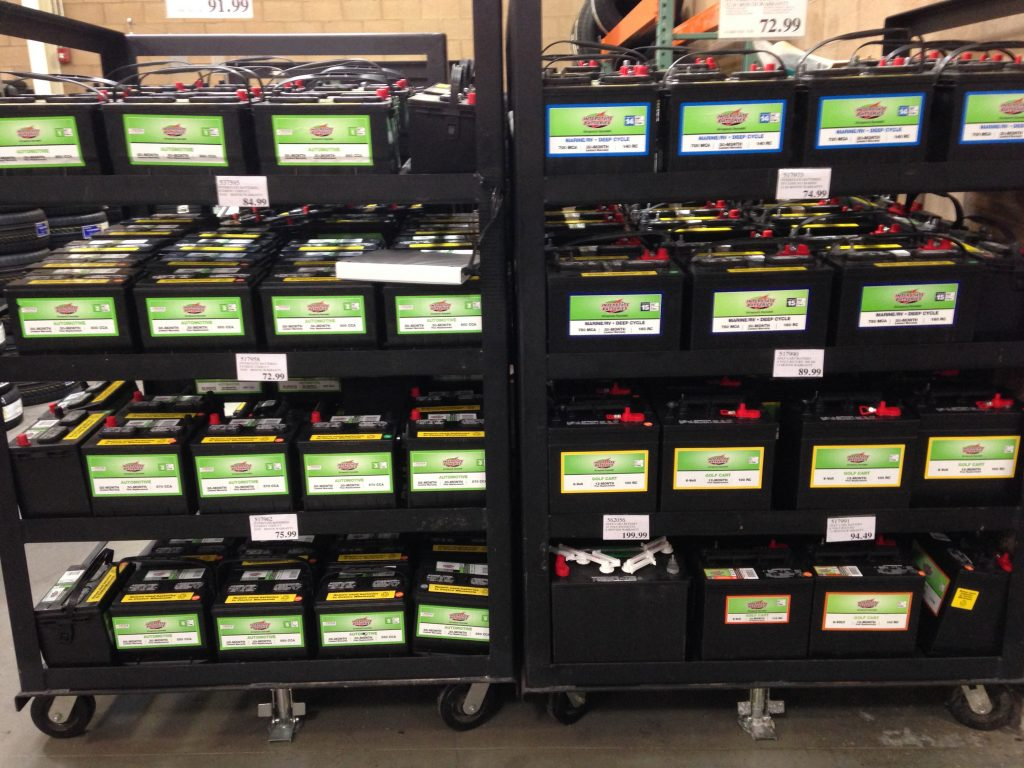Costco Batteries - Truck Camper Adventure