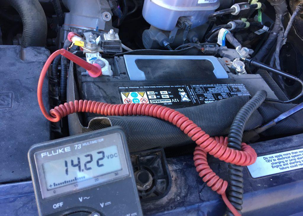 Ram 3500 Alternator Battery Check - Truck Camper Adventure