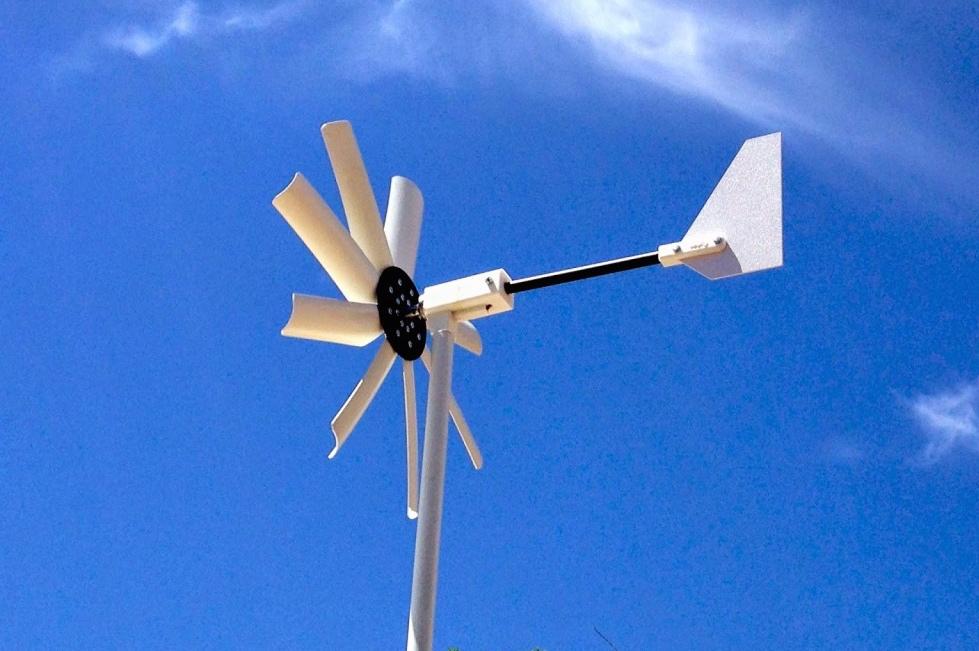 Wilndwalker 250 Wind Turbine - Truck Camper Adventure