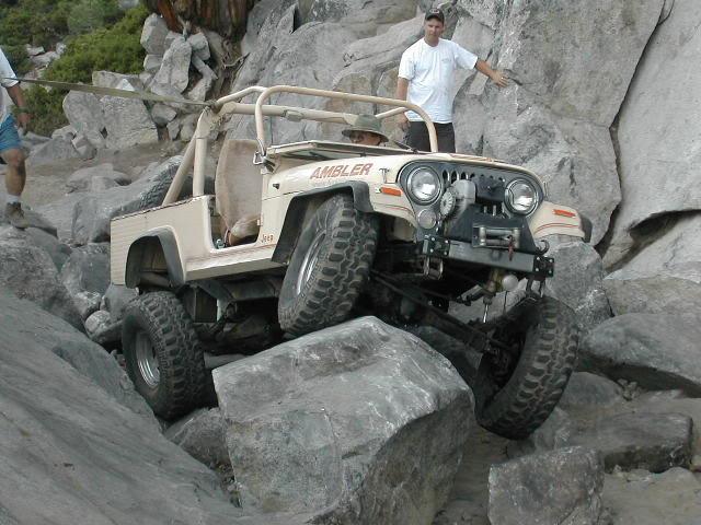 CJ8 Jeep Scrambler