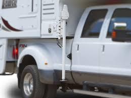 Swing out Jack Brackets - Truck Camper Adventure